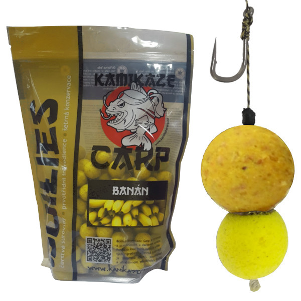Boilies KC BANÁN +  pop-up.